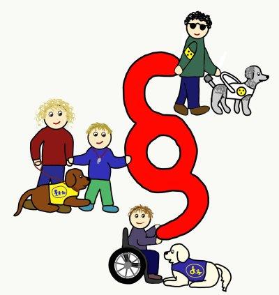 Behindertenverbände fordern gemeinsam ein Assistenzhundgesetz; Bildquelle: Hunde für Handicaps/Jasmin Stoiber