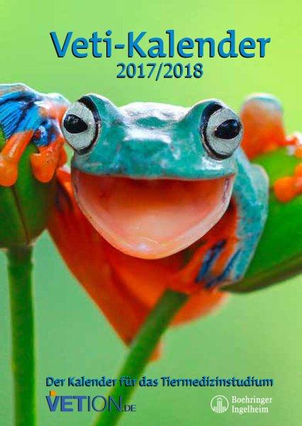 Das neue Titelmotiv für den Veti-Kalender, den Taschenkalender für das Tiermedizinstudium, steht fest! Es wird der lustige Frosch.