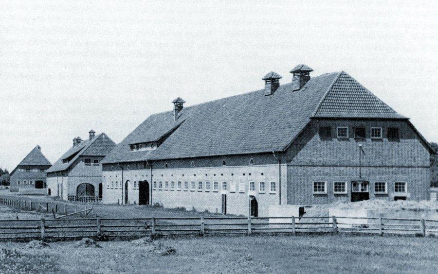 Die ältesten Forschungsgebäude in Dummerstorf: Stallanlagen aus dem Jahr 1939