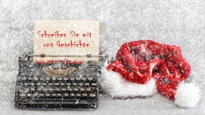 Gewinnspiel für TFAs - Schreiben Sie mit uns Geschichte