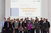 Teilnehmerinnen und Teilnehmer des Kickoff-Meetings im Paul-Ehrlich-Institut; Bildquelle: PEI