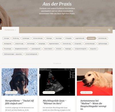 """Kardiologie-Schwerpunkt auf """"Hunderunden.de"""""""