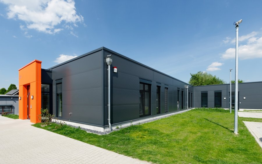 Gleichermaßen funktional wie optisch ansprechend präsentiert sich der Neubau in Castrop-Rauxel.