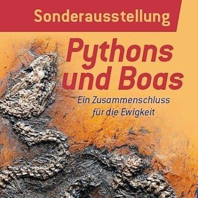 """Sonderausstellung """"Pythons und Boas"""" � ein Zusammenschluss für die Ewigkeit"""