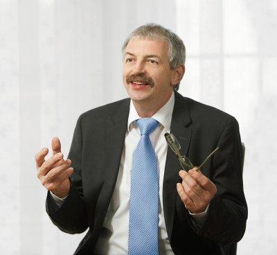 ZZF-Präsident Norbert Holthenrich; Bildquelle: WZF / Jan Scheutzow