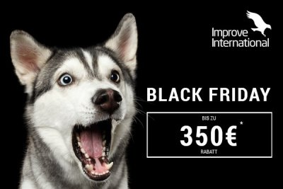 Black Friday: bis zu 350 Euro Rabatt bei Improve International