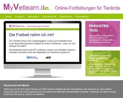 Myvetlearn.de hat ein neues Gesicht