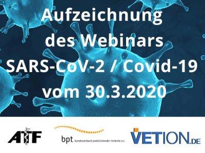 Webinar gibt Antwort auf aktuelle Fragen zu SARS-CoV-2 / Covid-19
