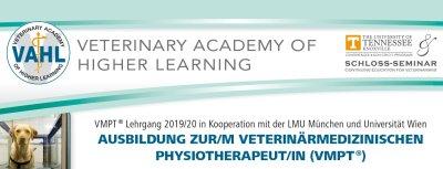 Ausbildung zur/zum Veterinärmedizinische Physiotherapeut/in (VMPT) in München
