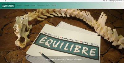 Tierärztliche Akademie für Osteopathie - TAO Equilibre mit neuem Gesicht