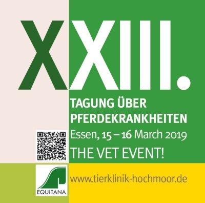 XXIII. Tagung über Pferdekrankheiten im Rahmen der EQUITANA in Essen
