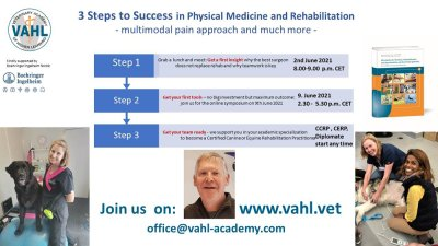 Kostenloses Webinar. 3 Steps to Success in Physical Medicine and Rehabilitation