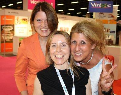 Das Moderatoren-Team der VAHL Webinare: Teresa Federsel, Barbara Esteve Ratsch und Beate Egner