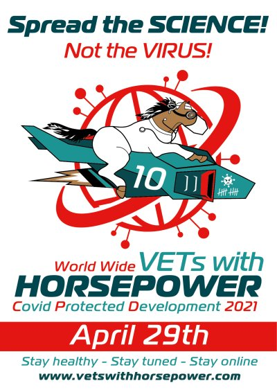'Vets with Horsepower'-Webinarmarathon am 29. April 2021