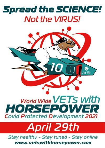 'Vets with Horsepower'-Webinarmarathon am 29. April 2021