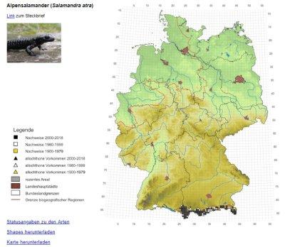Online-Atlas der Amphibien und Reptilien Deutschlands aktualisiert; Bildquelle: DGHT