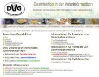 Online-Datenbank fuer Wirksamkeits-gepruefteDesinfektionsmittel