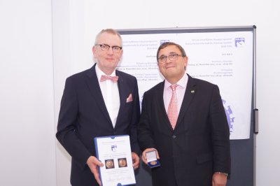Fotoalbum: DVG-Vet-Congress 2017 in Berlin � Richard-Völker-Medaille