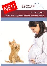 Toxoplasmose-Flyer: Gut informiert in der Schwangerschaft