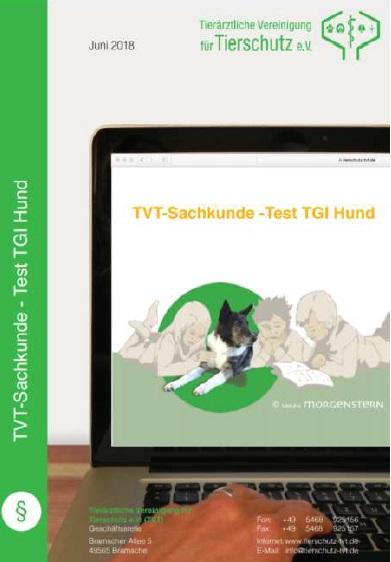 Online-Test zur Überprüfung der Sachkunde in der Tiergestützten Intervention mit Hunden