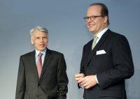Prof.Dr.Andreas Barner (li.) und Hubertus von Baumbach; Bildquelle: Boehringer Ingelheim