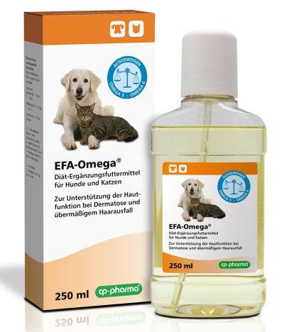 EFA-Omega® Diät-Ergänzungsfuttermittel für Hunde und Katzen