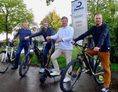 Günter Koch, Thomas Weers, Tobias Tietje und Dr. Hans-Joachim Schäfer