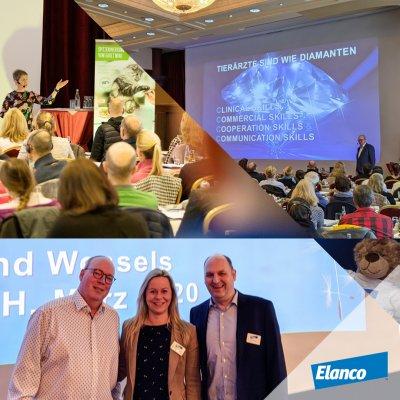 Dr. Roeland Wessels. Von Elanco: Linda Katzer (Tierärztin, Marketing Managerin) und Dr. Detert Gruis (Tierarzt, Head of BU Companion Animals DACH)