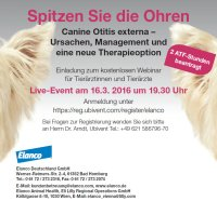 Kostenloses Webinar: Canine Otitis externa