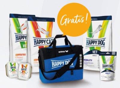 Happy Dog Aktion: Erima Sporttasche gratis!