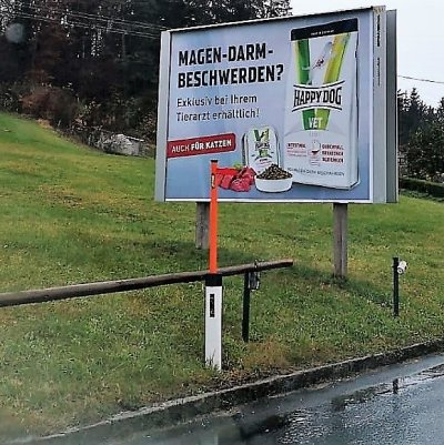 Happy Dog und Happy Cat: Plakatkampagne zur VET-Linie