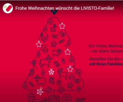 LIVISTO wünscht frohe Weihnachten!