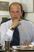 Tierarzt und Pferdewirtschaftsmeister Christian Schacht