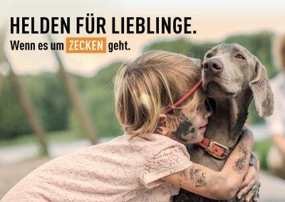 Kampagne �Helden für Lieblinge� von MSD Tiergesundheit