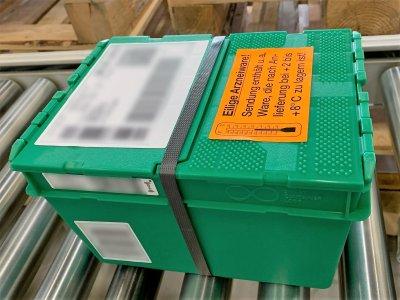 MSD Tiergesundheit stellt Arzneimittelversand auf Mehrwegboxen um; Bildquelle: NextPharma Logistics