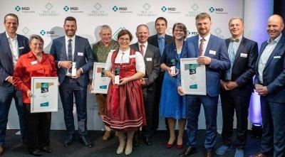 Preis der Tiergesundheit 2019 - alle Gewinner!; Bildquelle: MSD Tiergesundheit