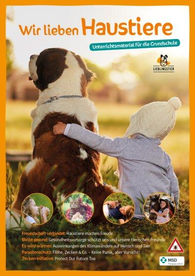 Tiergesundheitsunterricht für Grundschüler, eine Bildungsinitiative von MSD Tiergesundheit: So macht Schule tierisch Spaß!