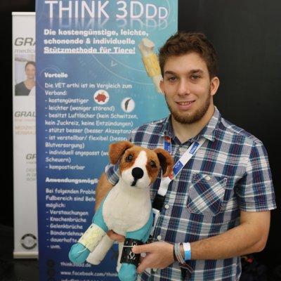 Think3DDD stellt mit 'VET orthi' eine Orthese aus dem 3D-Drucker vor