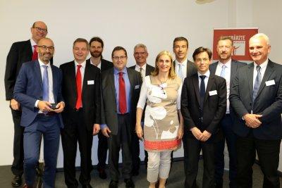 Vetoquinol Geschäftsführung und Vorstand; Bildquelle: Thomas Zimmel/VET-MAGAZIN.de