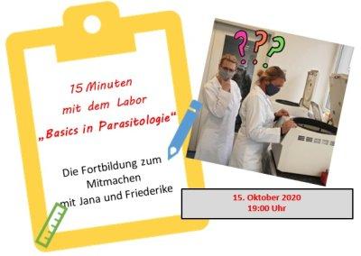 Kostenloses Webinar für TFAs: Basics in Parasitologie