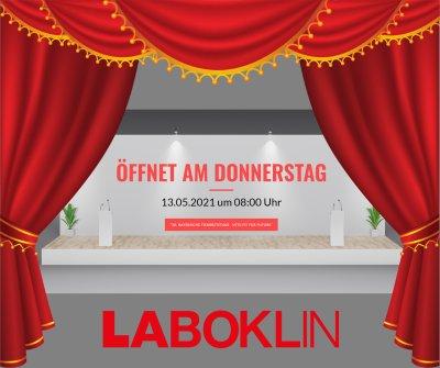 Laboklin Messestand zu den Bayerischen Tierärztetagen 2021