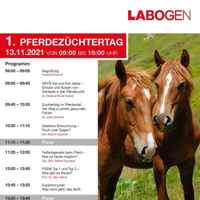 Laboklin Online Pferdezüchtertag