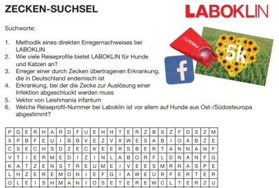 Laboklin Zecken-Rätsel