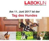 Labor Laboklin unterstützt die Tierarztpraxis mit einer Vorsorgeaktion