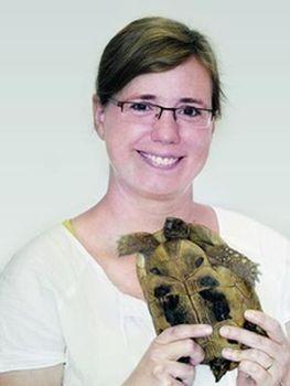 Referentin: PD Dr. Rachel E. Marschang; Bildquelle: Laboklin