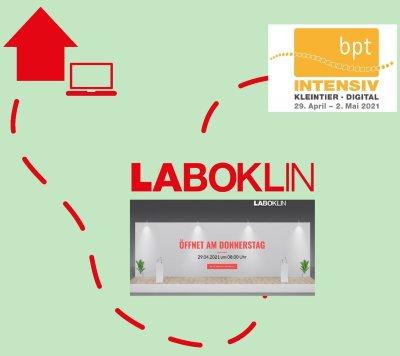 bpt-INTENSIV Kleintier digital: Laboklin ist schon auf dem Weg nach Bielefeld…